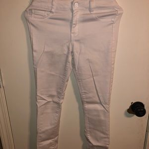 Denim - White Blue Asphalt skinny jeans